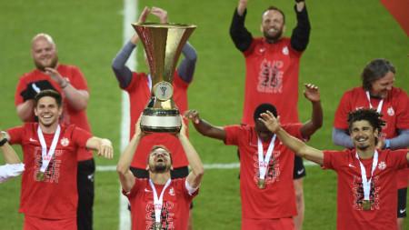 Залцбург спечели за седми път в историята си Купата на Австрия