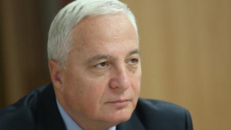 Председателят на Сметната палата Цветан Цветков