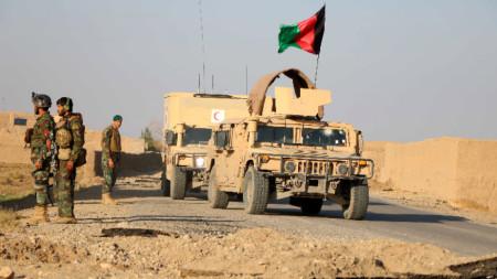 Афганистански патрул в провинция Херат.