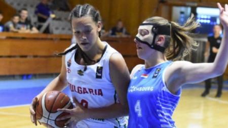Успех за момичетата ни на европейското по баскетбол