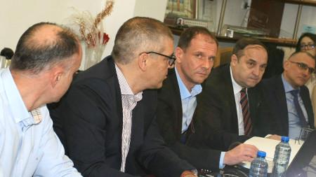 В сградата на БДЖ се проведе пресконференция на новото ръководство на