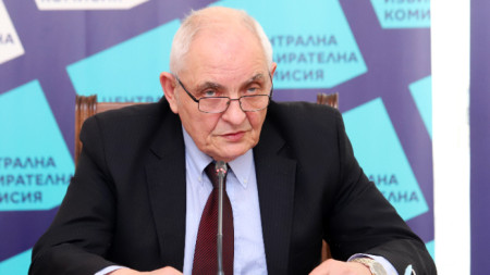 Говорителят на ЦИК Димитър Димитров