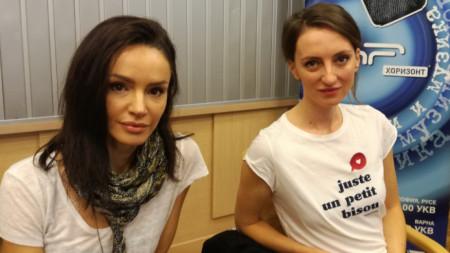 Надя Иванова и Росица Караджова