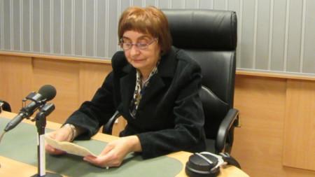 Марияна Маринова, завеждащ научната, експозиционната и фондова дейност в РИМ-София
