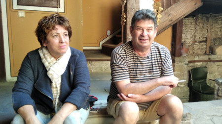 Елена Драмова и Стоян Маринов