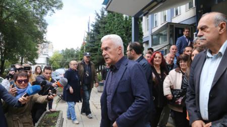 Волен Сидеров даде изявление пред 3-то РПУ.