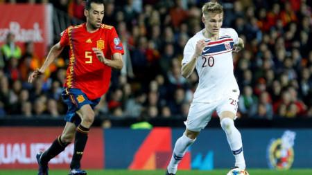 Испания - Норвегия