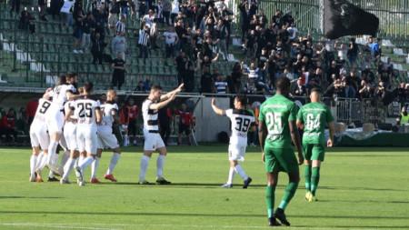 Лудогорец - Локомотив (Пловдив) 1:2