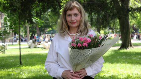 Актрисата Красимира Кузманова