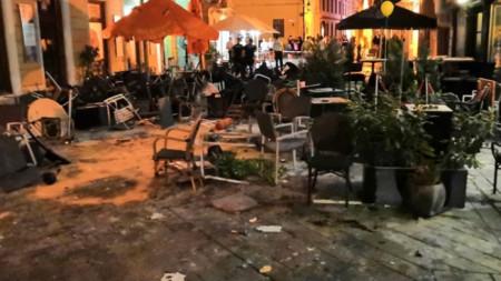 Погромите в Братислава
