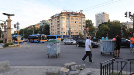 Heqja e barrikadave në Orllov Most