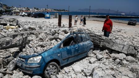 Гръцкият остров Кос беше разтърсен от разрушително земетресение със сила 6,6 по Рихтер на 20 юли 2017 година.