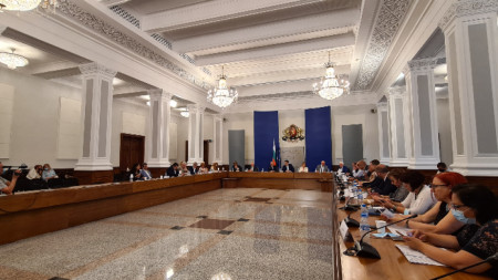 The National Council for Tripartite Cooperation in session, 26 July, 2021
