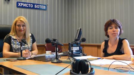 Адвокат Мариета Генчева (вдясно) и Анелия Торошанова