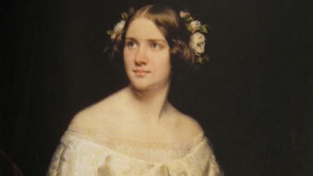 Джени Линд, портрет от Едуард Магнус, 1862 г