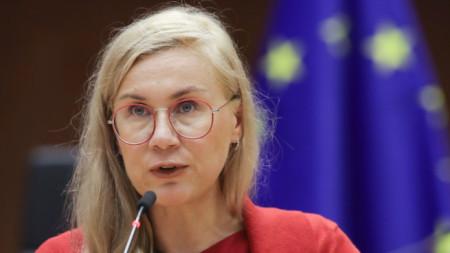 Кадри Симсон, европейски комисар по енергетика
