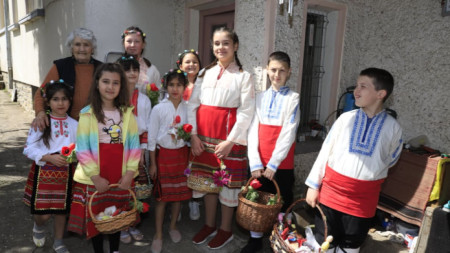 Лазаровден в с. Тодорово, Плевенско, 24 април 2021 г.