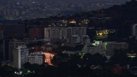 Столицата на Венецуела Каракас остана без ток след мащабна електроавария