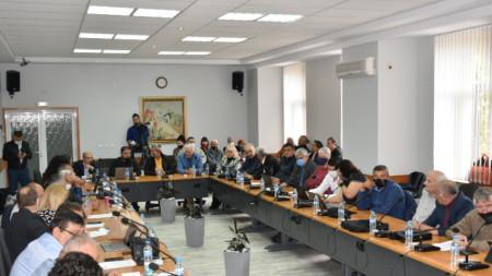 Заседание на Общинския съвет на Ловеч