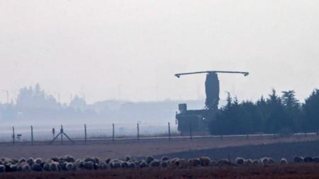 Поглед към турската военновъздушна база край Анкара, където се правят тестовете на системите С-400
