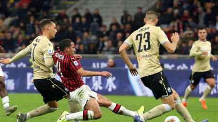 Милан - СПАЛ 1:0