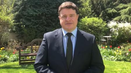 British ambassador to Bulgaria Rob Dixon