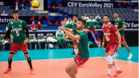 Националният отбор на България  е на осминафинал.