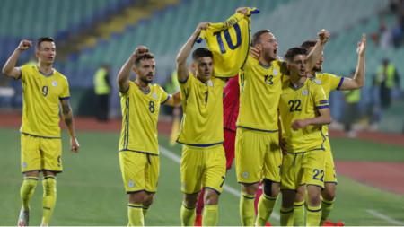 Отборът на Косово победи с 2:3 националния отбор на България