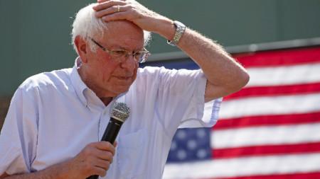 78-годишният сенатор се опитва да спечели номинацията на демократите за президентските избори в САЩ