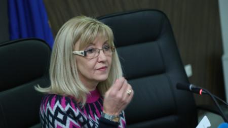 Министърът на регионалното развитие Петя Аврамова