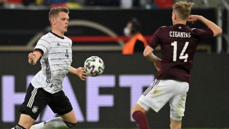 Германия разгроми Латвия със 7:1