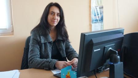 Мая Иванова, кмет на село Флорентин