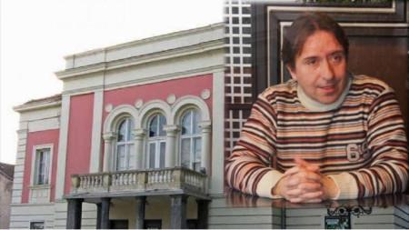 "Дейвид Славчев, директор драматичен театър ""Владимир Трендафилов"", Видин"