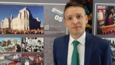 Себастиан Клеве - културен референт в посолството на Германия у нас