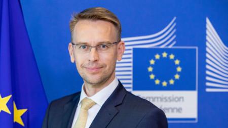 Петер Стано - говорител на Европейската служба за външна дейност.