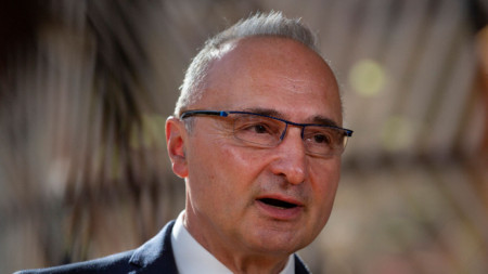Гордан Гърлич Радман, министър на външните работи на Хърватия