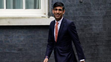 Риши Сунак, британски финансов министър