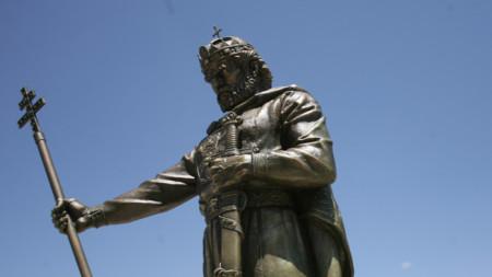 Monumento al zar Samuil en Sofía