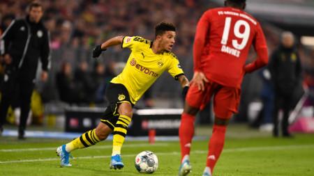 Джейдън Санчо остава в Дортмунд. Засега.