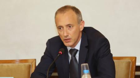 Ministri i Arsimit Krasimir Vëllçev