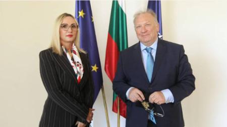 Svetllan Stoev dhe Donika Hoxha