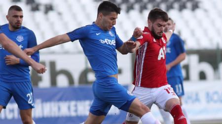 Отборите на Арда и ЦСКА София завършиха 1:1