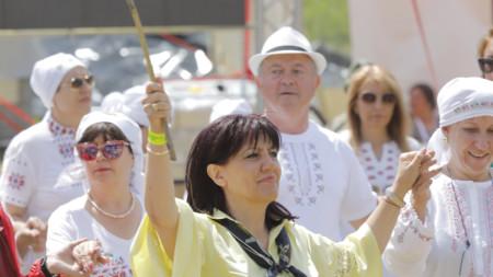 Председателят на Народното събрание Цвета Караянчева посети националния събор на Рожен
