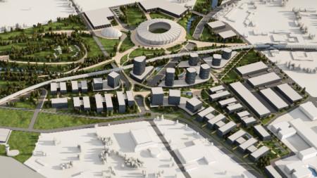 Проект за летище София и за нов стадион