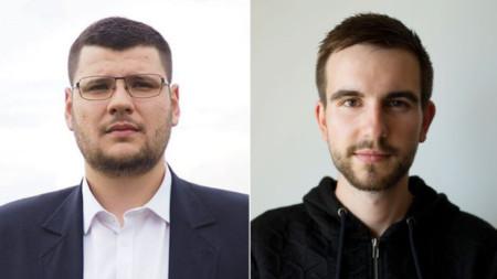 Димитър Панайотов (вляво) и Александър Николов