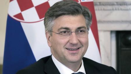 Премиерът на Хърватия Андрей Пленкович