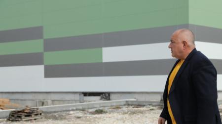 """Премиерът Бойко Борисов посети в събота производствена база на """"Биовет"""" в Разград."""