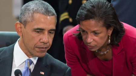 Барак Обама и Сюзън Райс