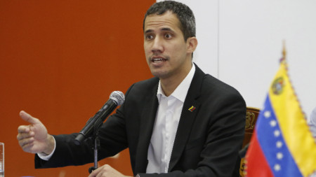 Венецуелският опозиционен лидер Хуан Гуайдо.