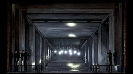 """Сцена от операта """"Джоконда"""" от Амилкаре Понкиели - спектатъл на Кралския театър """"Ла Моне"""" в Брюксел"""